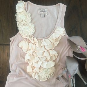Anthropologie pink tank